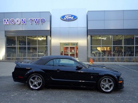 Black 2006 Ford Mustang ROUSH Stage 2 Convertible