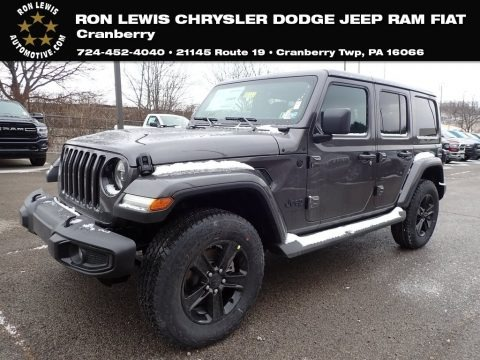 Granite Crystal Metallic 2021 Jeep Wrangler Unlimited Sahara Altitude 4x4