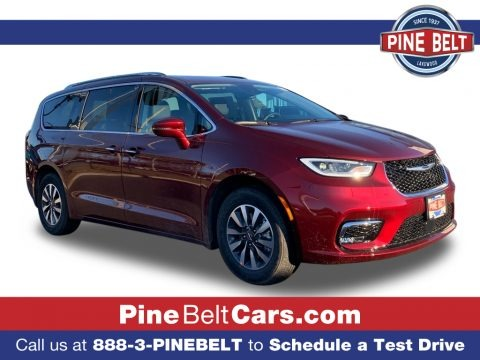Velvet Red Pearl 2021 Chrysler Pacifica Touring L