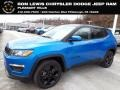 Jeep Compass Latitude 4x4 Laser Blue Pearl photo #1