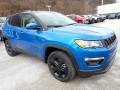 Jeep Compass Latitude 4x4 Laser Blue Pearl photo #8