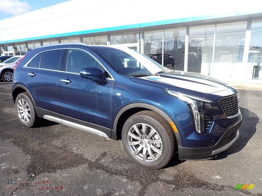 2021 XT4 Premium Luxury AWD - Twilight Blue Metallic / Light Platinum/Jet Black photo #1