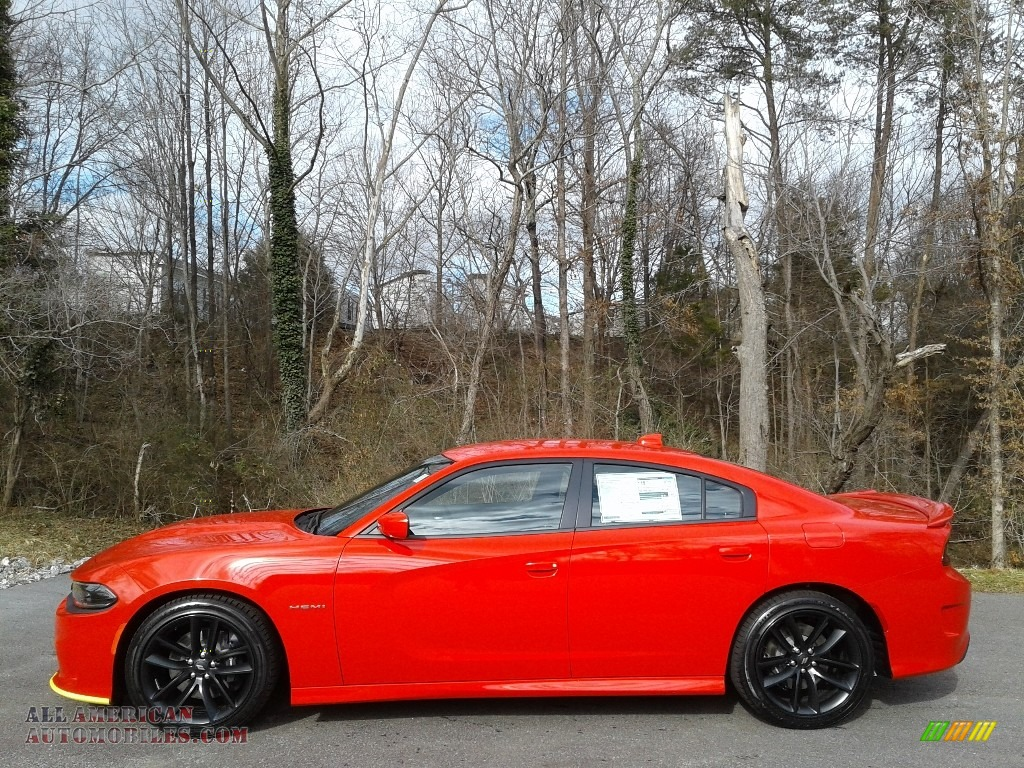 2021 Charger R/T - Torred / Black photo #1