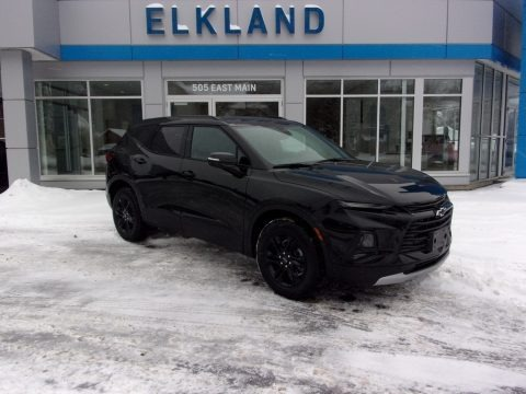 Black 2021 Chevrolet Blazer LT AWD
