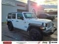 Jeep Wrangler Unlimited Sport Altitude 4x4 Bright White photo #1