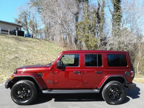 Snazzberry Pearl 2021 Jeep Wrangler Unlimited Sahara Altitude 4x4