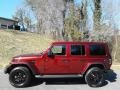 Jeep Wrangler Unlimited Sahara Altitude 4x4 Snazzberry Pearl photo #1