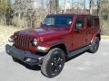 Jeep Wrangler Unlimited Sahara Altitude 4x4 Snazzberry Pearl photo #2
