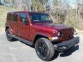 Jeep Wrangler Unlimited Sahara Altitude 4x4 Snazzberry Pearl photo #4