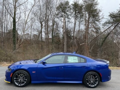 Indigo Blue 2021 Dodge Charger Scat Pack