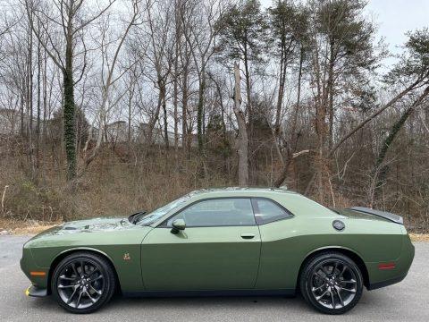 F8 Green 2021 Dodge Challenger R/T Scat Pack