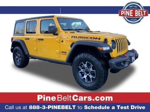 Hellayella 2021 Jeep Wrangler Unlimited Rubicon 4x4