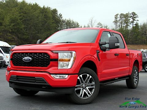 Race Red 2021 Ford F150 STX SuperCrew 4x4