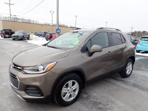 Stone Gray Metallic 2021 Chevrolet Trax LT