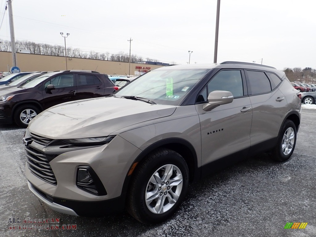 2021 Blazer LT AWD - Pewter Metallic / Jet Black photo #1