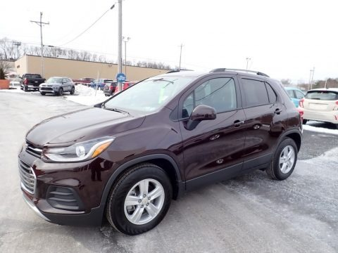 Black Cherry Metallic 2021 Chevrolet Trax LT