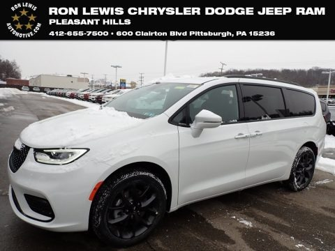 Bright White 2021 Chrysler Pacifica Touring AWD