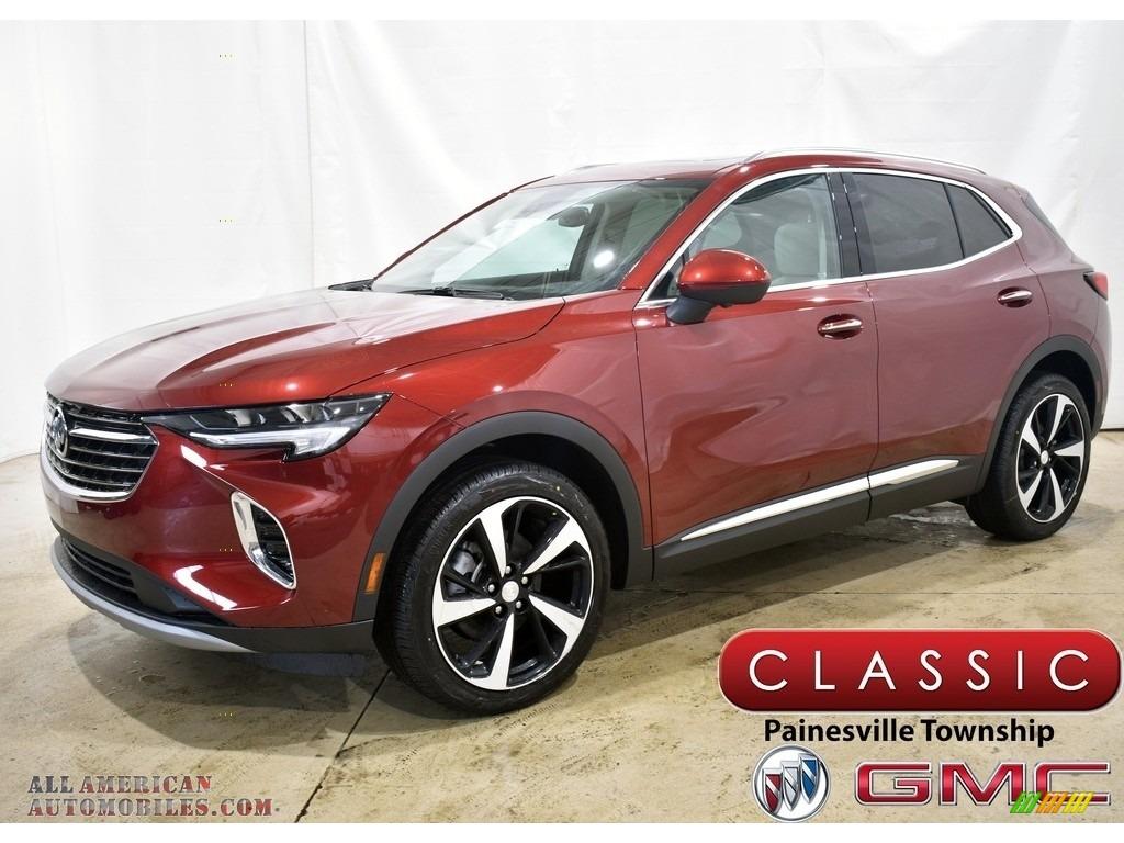 2021 Envision Essence AWD - Cinnabar Metallic / Whisper Beige w/Ebony Accents photo #1
