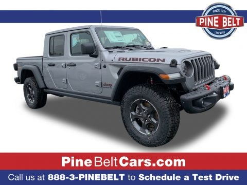 Billet Silver Metallic 2021 Jeep Gladiator Rubicon 4x4