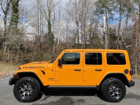 Nacho 2021 Jeep Wrangler Unlimited Rubicon 4x4