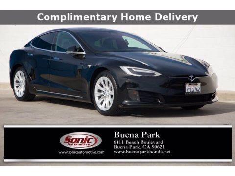 Black 2017 Tesla Model S 75
