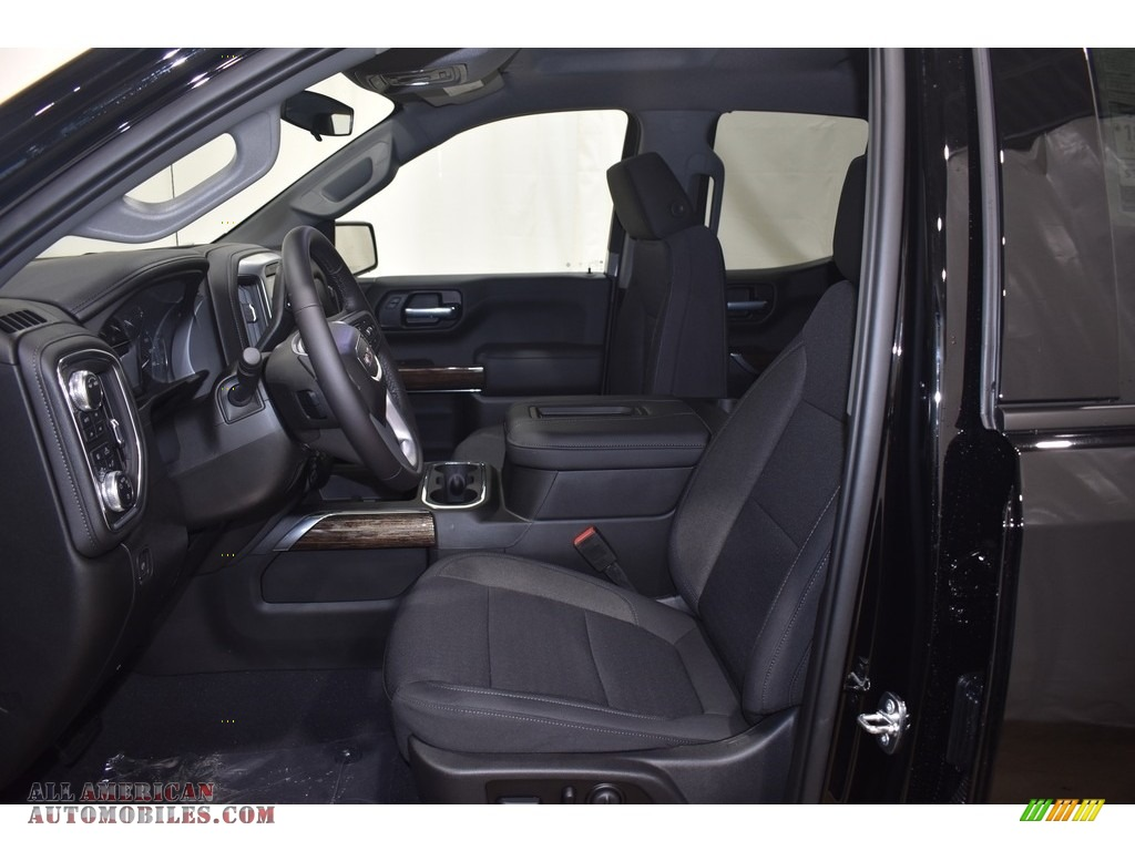 2021 Sierra 1500 Elevation Double Cab 4WD - Onyx Black / Jet Black photo #6