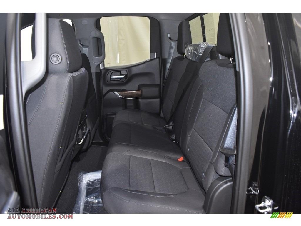 2021 Sierra 1500 Elevation Double Cab 4WD - Onyx Black / Jet Black photo #7