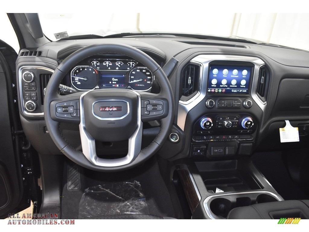 2021 Sierra 1500 Elevation Double Cab 4WD - Onyx Black / Jet Black photo #10