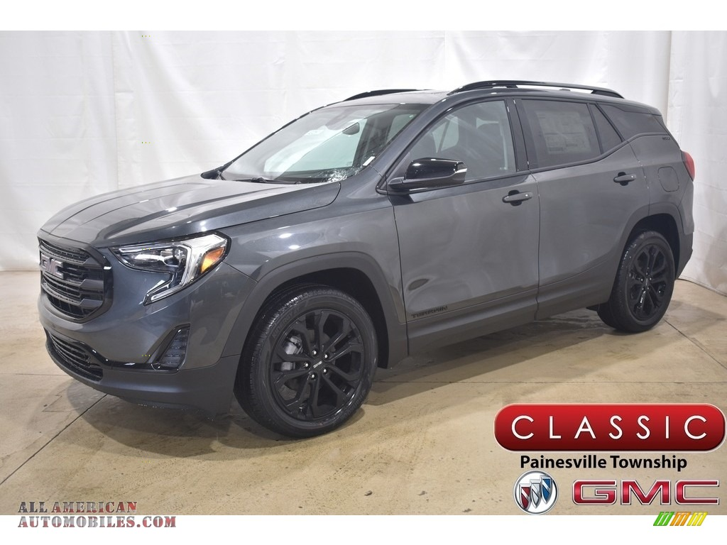 2021 Terrain SLE AWD - Graphite Gray Metallic / Jet Black photo #1
