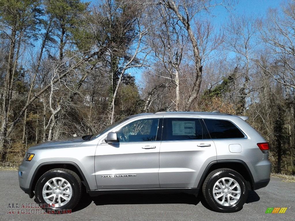 2021 Grand Cherokee Laredo 4x4 - Billet Silver Metallic / Black photo #1