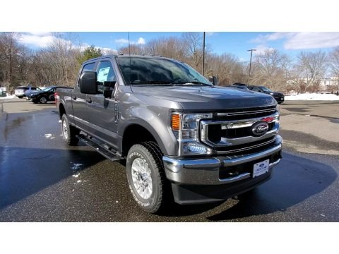 Carbonized Gray 2021 Ford F250 Super Duty XL Crew Cab 4x4