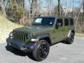 Jeep Wrangler Unlimited Sport Altitude 4x4 Sarge Green photo #2