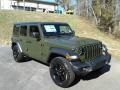 Jeep Wrangler Unlimited Sport Altitude 4x4 Sarge Green photo #4