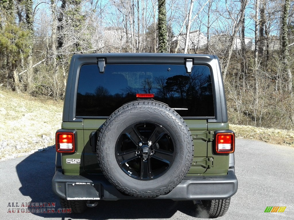 2021 Wrangler Unlimited Sport Altitude 4x4 - Sarge Green / Black photo #7