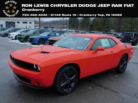 Go Mango 2021 Dodge Challenger SXT AWD