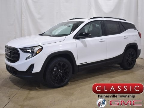 Summit White 2021 GMC Terrain SLE AWD