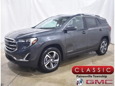 Graphite Gray Metallic 2021 GMC Terrain SLT AWD