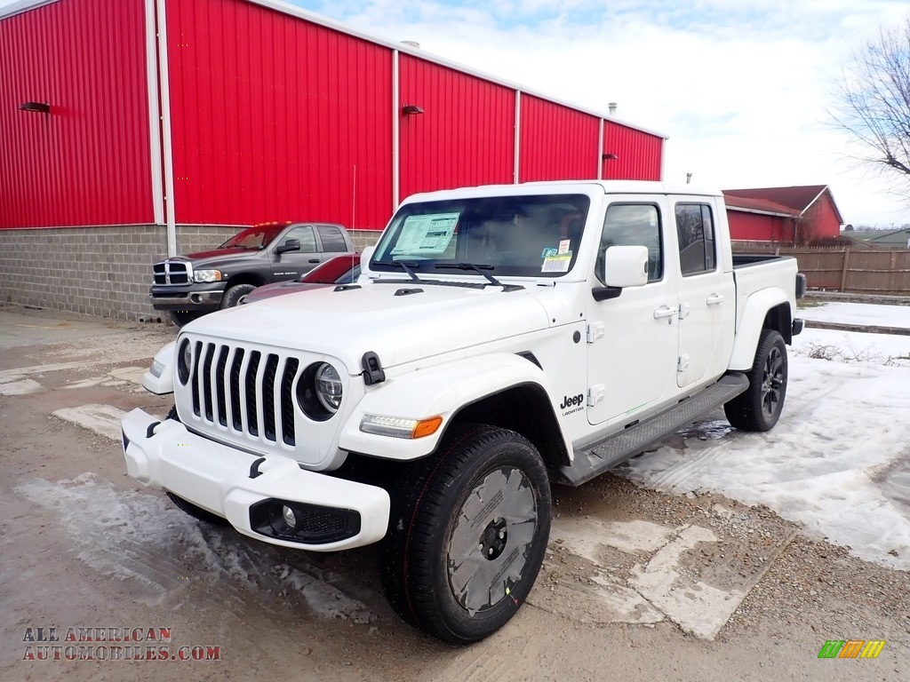 2021 Gladiator High Altitude 4x4 - Bright White / Black photo #1