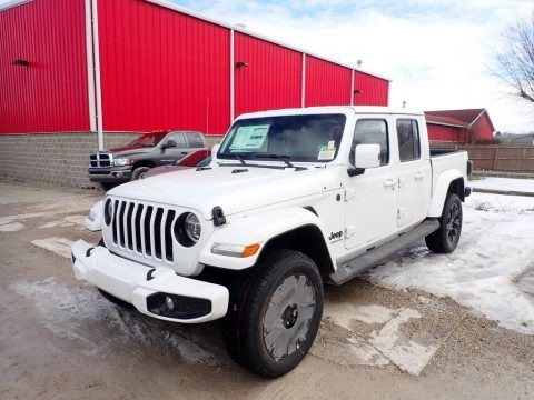 Bright White 2021 Jeep Gladiator High Altitude 4x4