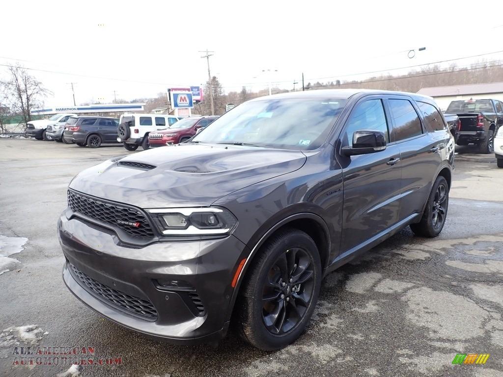 2021 Durango R/T AWD - Granite Metallic / Black photo #1