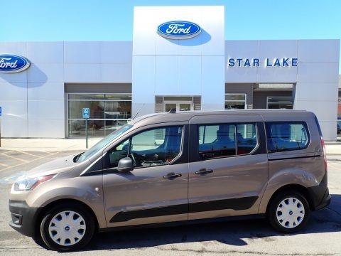 Diffused Silver 2020 Ford Transit Connect XL Van