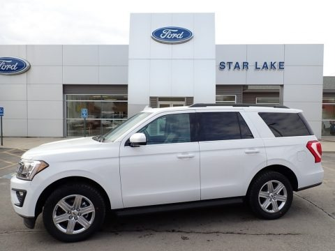 Oxford White 2021 Ford Expedition XLT 4x4