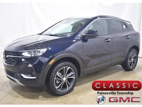Dark Moon Blue Metallic 2021 Buick Encore GX Select AWD