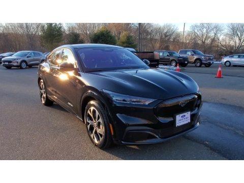 Shadow Black 2021 Ford Mustang Mach-E Premium eAWD