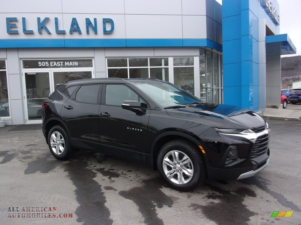 2021 Blazer LT AWD - Black / Jet Black photo #1