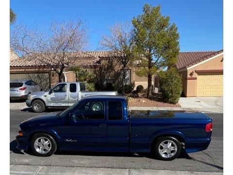Indigo Blue Metallic 2003 Chevrolet S10 LS Extended Cab