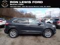 Ford Edge Titanium AWD Carbonized Gray Metallic photo #1