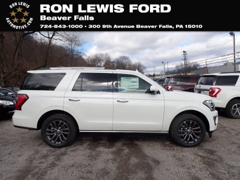 Star White 2021 Ford Expedition Limited 4x4