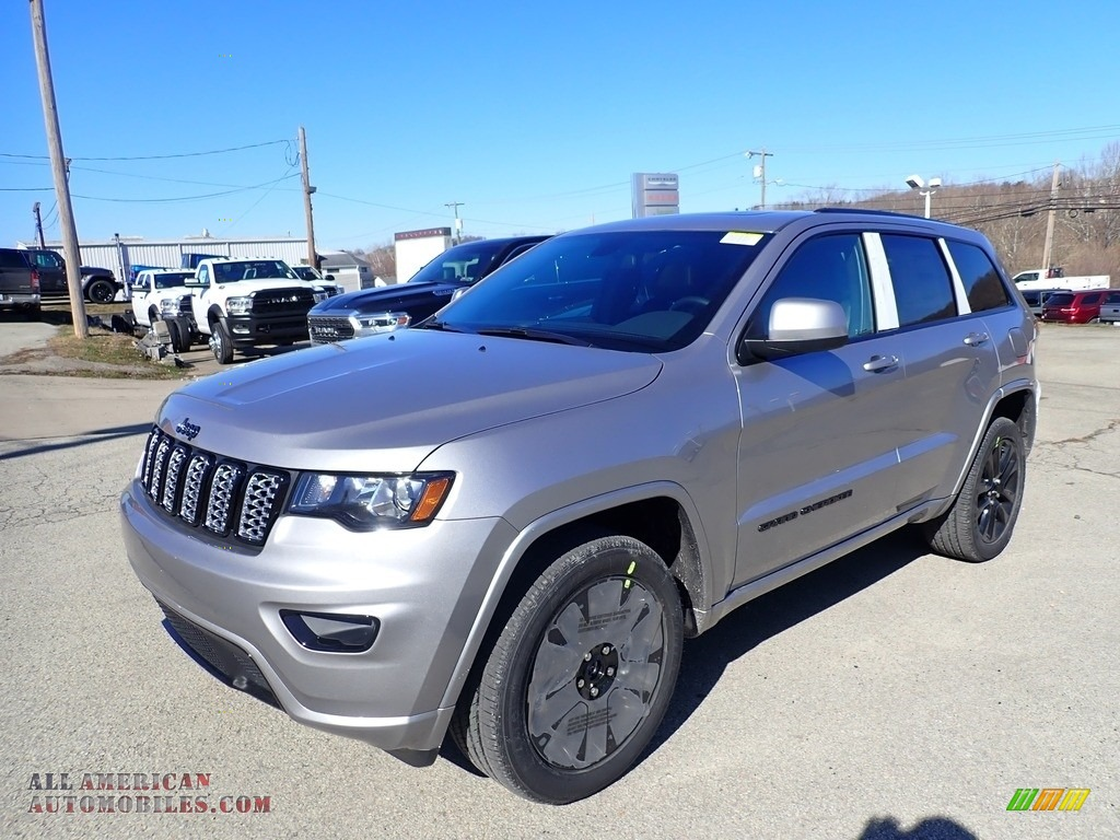 2021 Grand Cherokee Laredo 4x4 - Billet Silver Metallic / Black photo #1