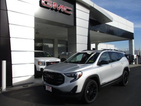 Quicksilver Metallic 2021 GMC Terrain SLE AWD